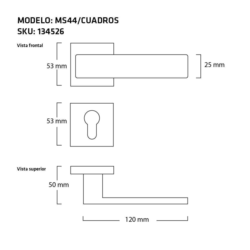 MEDIDAS MANIJA CUADROS