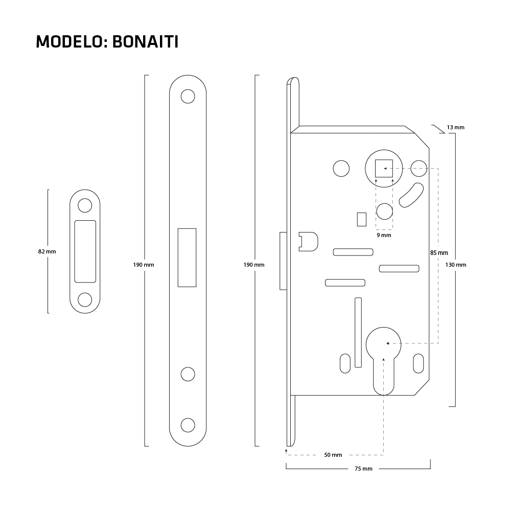 Medidas mecanismo Bonaiti