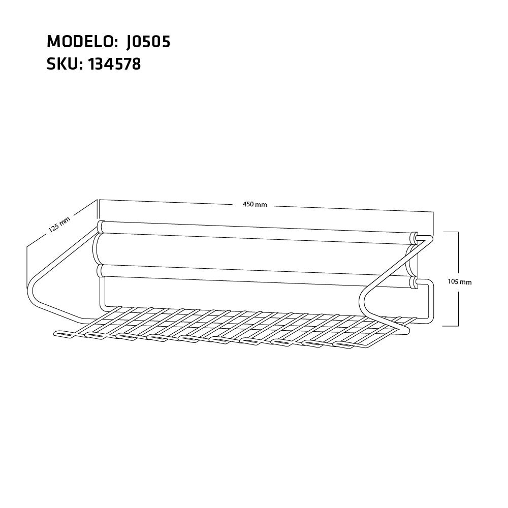 CORBATERO J0505 MEDIDA